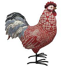 Santa's Workshop Rhode Island Red Rooster Figurine