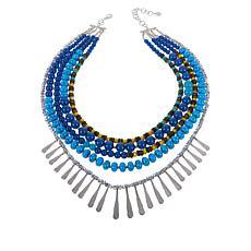 Sassy Jones Tezra 5-Strand Necklace
