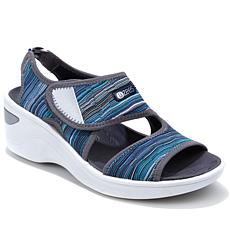Sea Dogs by Bzees Aloha Wedge Sandal