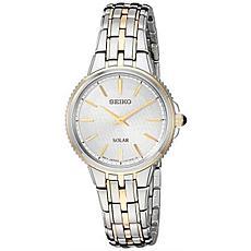 Seiko Women's Two-Tone Stainless Steel Solar Watch