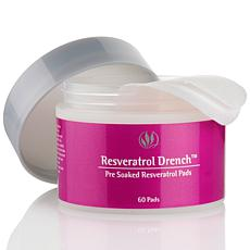 Serious Skincare Resveratrol Drench Pre-Soaked Pads