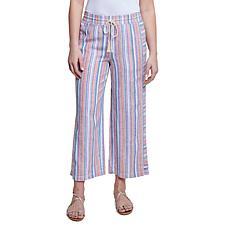 Seven7 Brisbane Pant - Multi Stripe