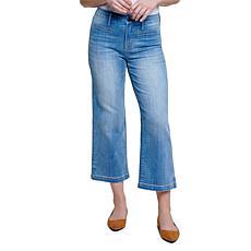 Seven7 Divine Wide Leg High Rise Jean - Strata