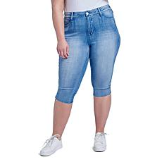 Seven7 High-Rise Breezy Skinny Crop Jean - Airy