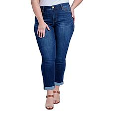 Seven7 High-Rise Tummyless Embroidered Jean - Avalon