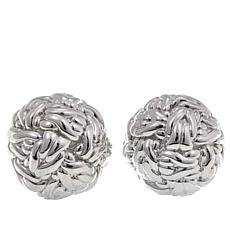 Sevilla Silver™ Basketweave Stud Earrings