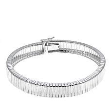 "Sevilla Silver™ Diamond-Cut Cubetto 7-1/2"" Bracelet"