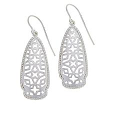 Sevilla Silver™ Filigree Arrowhead Drop Earrings