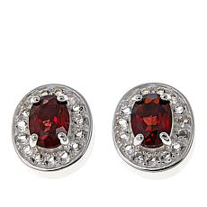 Sevilla Silver™ Garnet Interchangeable Magnetic Stations - Set of 2