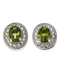 Sevilla Silver™ Peridot Interchangeable Magnetic Stations - Set of 2