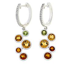 "Sevilla Silver™ ""Shades of Citrine"" Drop Earrings"