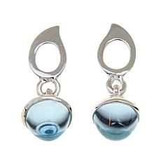 Sevilla Silver™ Sky Blue Topaz Drop Earrings