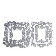 Sharon Callis Square/Rectangular Vintage Lace Frame Dies