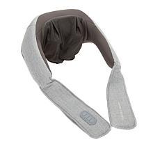 Sharper Image Shiatsu Wireless Neck and Back Massager with Heat