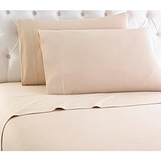 Shavel Home Micro Flannel Solid Color Sheet Set - Cal King