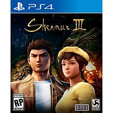 Shenmue III for PS4