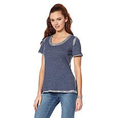 Sheryl Crow Metallic Trim Tee