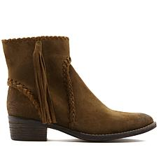 Sheryl Crow Sibel Suede or Distressed Leather Bootie