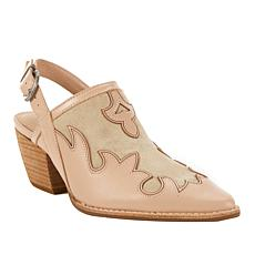 Sheryl Crow Traveler Slingback Leather Shootie