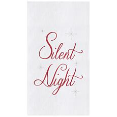Silent Night Towel Set of 2