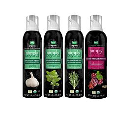 Simply Beyond Spray-On Herbs® 3-pack with Balsamic Vinegar Spray AS