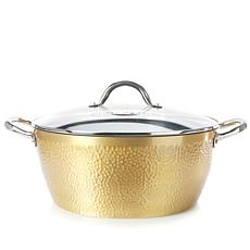 Simply Ming Elite Hammered Ceramic Nonstick 8-Quart Stock Pot