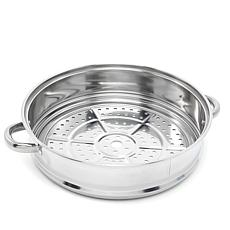 "Simply Ming Stainless Steel 12"" Steamer Insert"