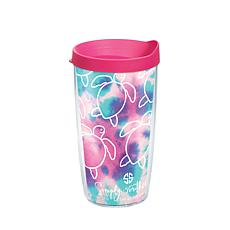 Simply Southern Save Turtle All Over 16 oz Tumbler with lid