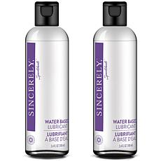 Sincerely Sportsheets Two Pack Water-Based Lubricant
