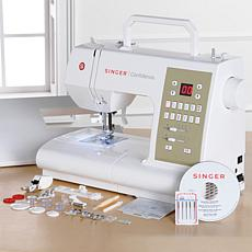 Singer® 98-Stitch Sewing and Quilting Machine with DVD & Foot Package