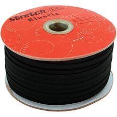 Singer Stretchrite Braided Elastic - Black