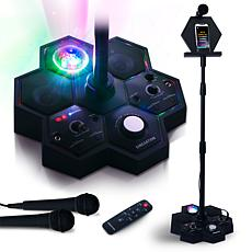 Singsation Performer Deluxe All-in-One Karaoke System w/2 Microphones