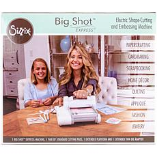 Sizzix Big Shot Express Machine (U.S. Version) - White with Gray