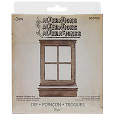 Sizzix Bigz Die By Tim Holtz - Window and Window Box