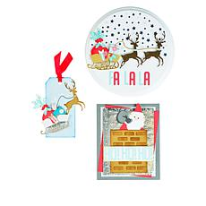 Sizzix® Santa Slider Card Dies Card Making Kit
