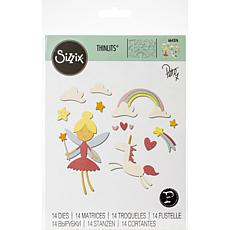 Sizzix Thinlits Dies By Pete Hughes 14-pack - Fantasy