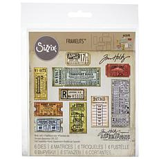 Sizzix Thinlits Dies By Tim Holtz  - Ticket Booth