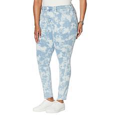 Skinnygirl Paul Printed High-Rise Skinny Jean