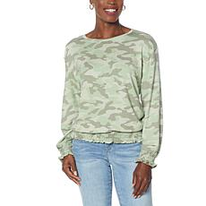 Skinnygirl Vicky Baby French Terry Knit Top