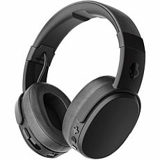 Skullcandy Crusher Black Bluetooth Headphones with Microphone
