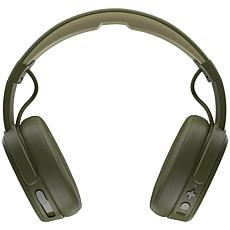 Skullcandy Crusher Bluetooth Headphones with Microphone - Moss Olive