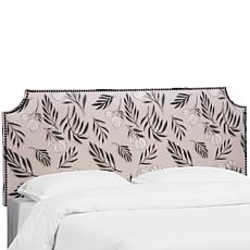Skyline Furniture Notched Nail Button Headboard - King