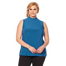 Slinky® Brand 2pk Sleeveless Mock-Neck Long Tunics