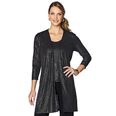Slinky® Brand 3pc Sparkle Duster and Tank with Pant