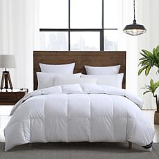 Smithsonian Sleep Collection White Goose Down & Feather Comforter- F/Q