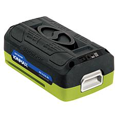 Snow Joe EcoSharp Lithium-Ion 40V 6-Ah Battery