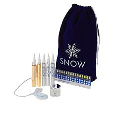 SNOW Teeth Whitening Kit with Lip Care and Travel Bag