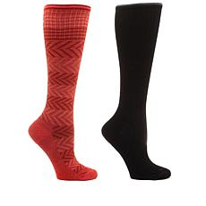 Sockwell Chevron Compression Socks 2-pack