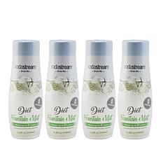 SodaStream Diet Fountain Mist Drink Mix 4-pack