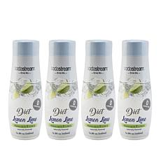 SodaStream Diet Lemon Lime Drink Mix 4-pack